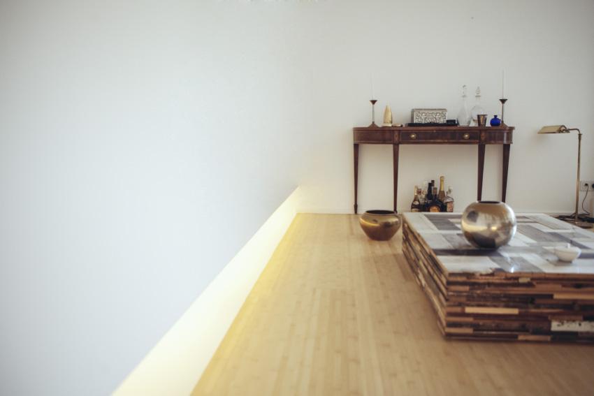 Ramon Haindl - Einfamilienhaus Lichtleiste Interior Design