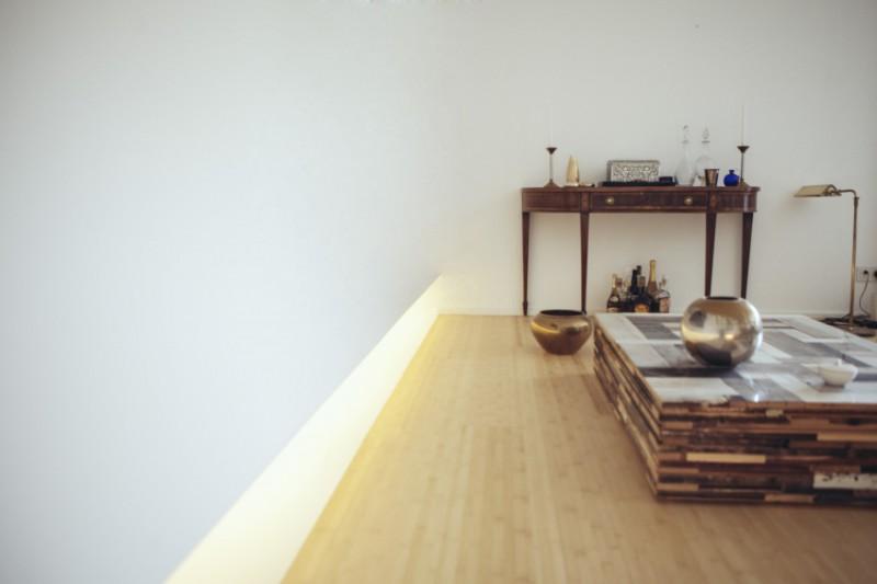 Architectured - Einfamilienhaus Lichtleiste Interior Design